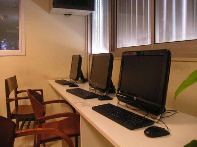 Biblioteca con nueva tecnología