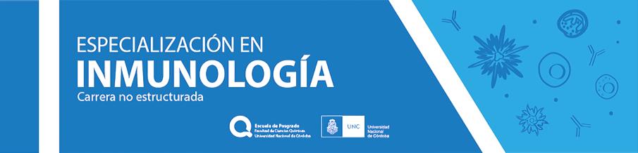 Especialización en Inmunología