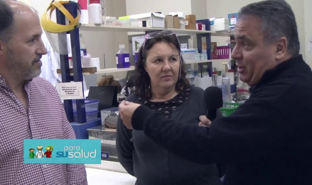 """Embedded thumbnail for Vacunas: Dra. Maletto y Dr. Morón en """"Para su salud"""" (Canal 8)"""