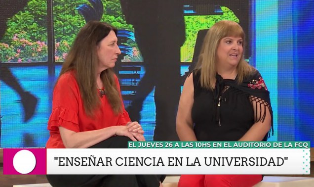 Embedded thumbnail for Enseñar ciencia en la FCQ - UNC