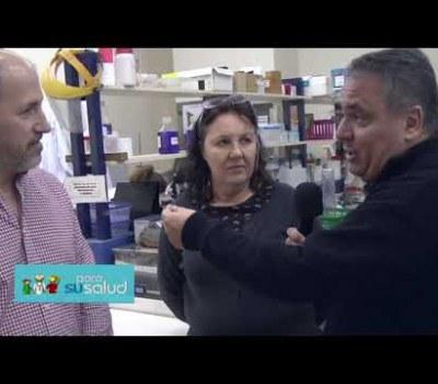 """Vacunas: Dra. Maletto y Dr. Morón en """"Para su salud"""" (Canal 8)"""