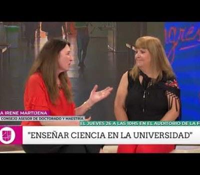 """Charla """"Enseñar Ciencia en la Universidad"""""""