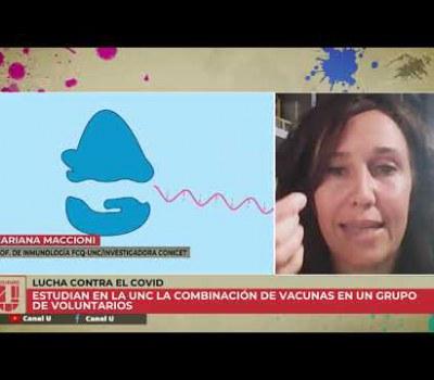 Embedded thumbnail for #COVID19: inmunidad celular en combinación de vacunas   Dra. Maccioni en Ciudad U