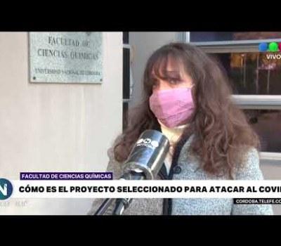 Embedded thumbnail for Investigación sobre respuesta inmune en #COVID19   Dra. Sotomayor en Telefé